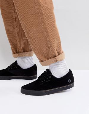 Etnies Черные кроссовки с вулканизированной подошвой Jameson. Цвет: черный
