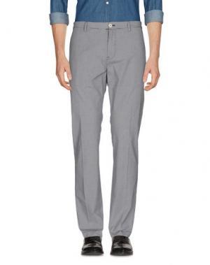 Повседневные брюки M.GRIFONI DENIM. Цвет: черный