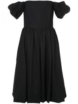 Платье с открытыми плечами Co. Цвет: чёрный
