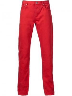 Классические брюки-чинос A.P.C.. Цвет: красный