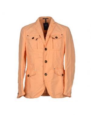 Пиджак CALVARESI. Цвет: оранжевый