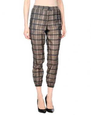 Повседневные брюки EMILIANO RINALDI. Цвет: темно-коричневый