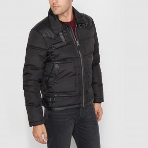 Куртка стёганая WASHINGTON REDSKINS. Цвет: черный