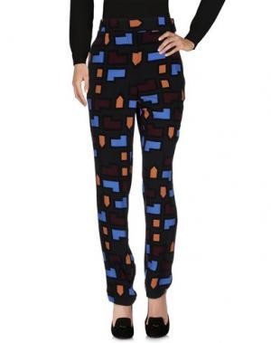 Повседневные брюки ATTIC AND BARN. Цвет: стальной серый
