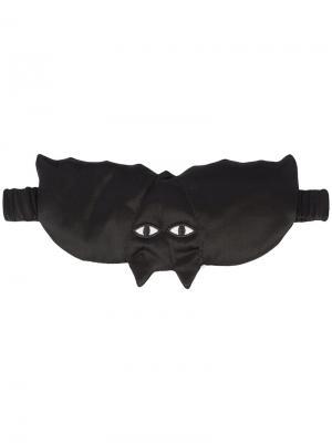 Bat sleeping mask Morgan Lane. Цвет: чёрный