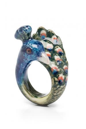 Кольцо 184777 Nach Jewellery. Цвет: синий