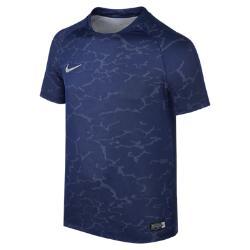 Игровая футболка для мальчиков школьного возраста  Flash CR7 Nike. Цвет: синий