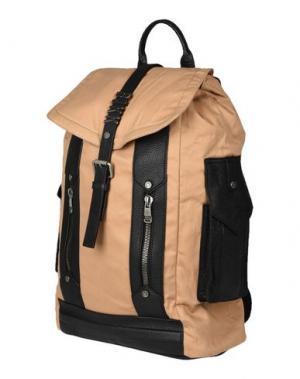 Рюкзаки и сумки на пояс BIKKEMBERGS. Цвет: бежевый