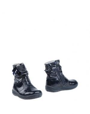 Полусапоги и высокие ботинки FALCOTTO by NATURINO. Цвет: темно-синий