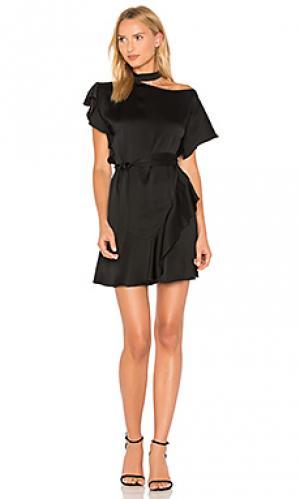 Платье delilah Marissa Webb. Цвет: черный