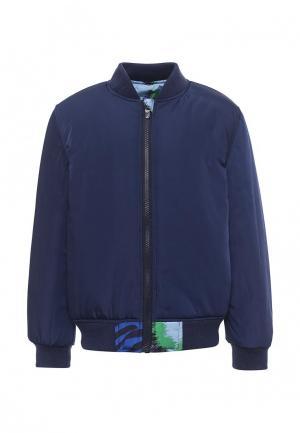 Куртка утепленная Kenzo. Цвет: разноцветный