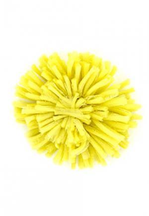 Брошь ALTER EGO. Цвет: желтый