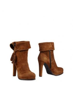 Полусапоги и высокие ботинки FRATELLI KARIDA. Цвет: верблюжий