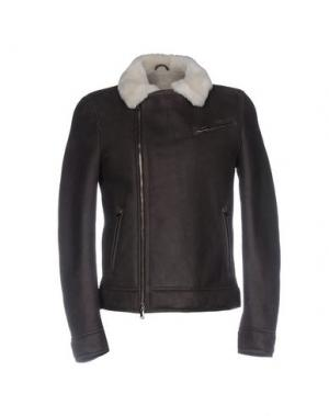 Куртка OLIVIERI. Цвет: темно-коричневый