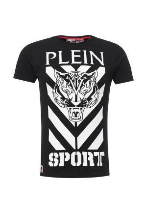 Футболка Plein Sport. Цвет: черный