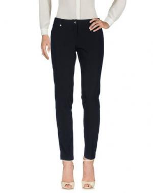 Повседневные брюки TUWE ITALIA. Цвет: черный