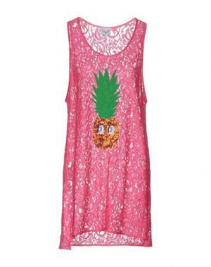 Короткое платье LEITMOTIV. Цвет: фуксия