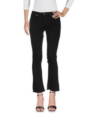 Джинсовые брюки MOTEL. Цвет: черный