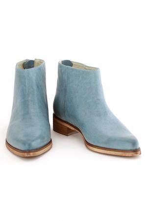 Ботинки Elena. Цвет: голубой