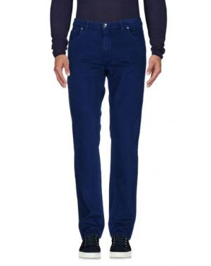 Джинсовые брюки MORRIS. Цвет: синий