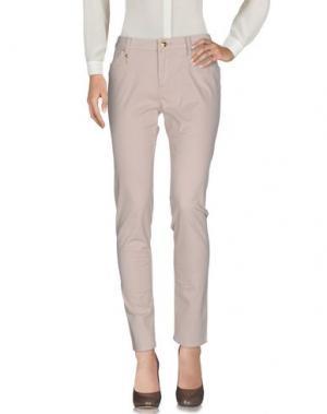 Повседневные брюки LEROCK. Цвет: бежевый