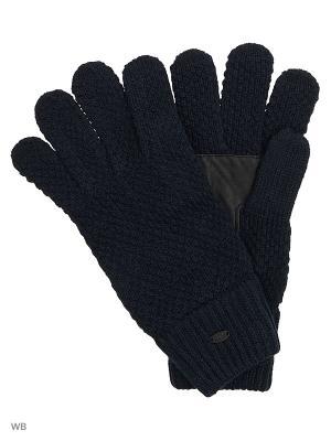 Перчатки Colin's. Цвет: синий