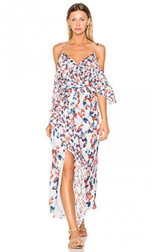 Платье lorena Tanya Taylor. Цвет: синий