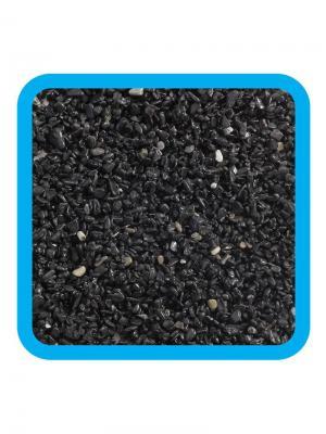 Грунт натуральный черный, 2-4мм. LAGUNA. Цвет: черный