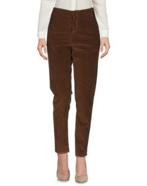 Повседневные брюки ZHELDA. Цвет: какао