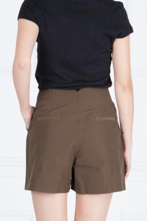 Хлопковые шорты Proenza Schouler. Цвет: коричневый
