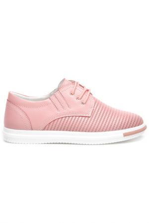 Полуботинки Wilmar. Цвет: розовый