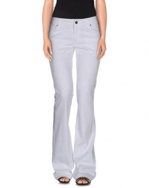 Джинсовые брюки ROSE & LINI. Цвет: белый