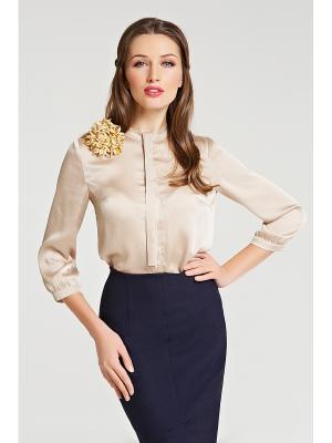 Блуза SUCCESS. Цвет: бежевый