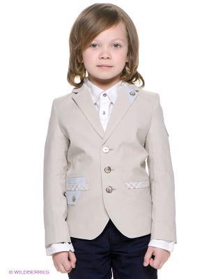 Пиджак CHOUPETTE. Цвет: светло-бежевый