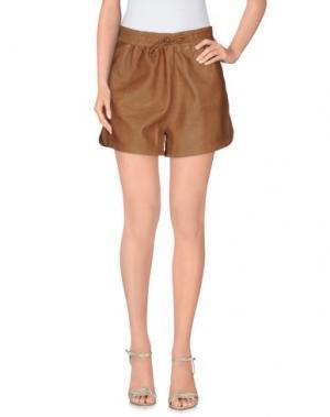 Повседневные шорты VINTAGE DE LUXE. Цвет: коричневый