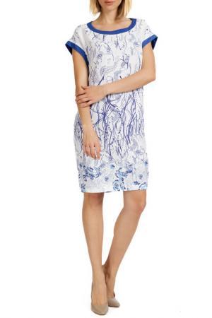 Платье Apanage. Цвет: blauweiss