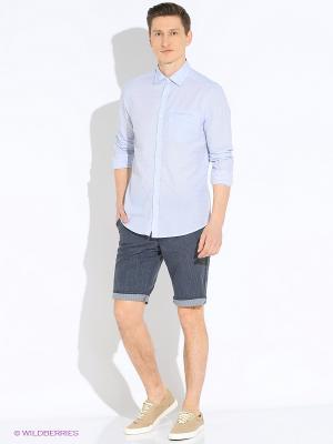 Рубашка MEXX. Цвет: голубой
