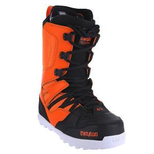 Ботинки для сноуборда  Light 14 Black/Orange Thirty Two. Цвет: оранжевый,черный