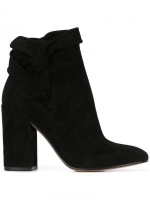 Ботинки Leslie Gianvito Rossi. Цвет: чёрный