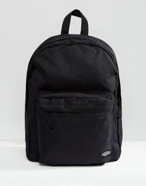 Dickies Черный рюкзак Indianapolis. Цвет: черный