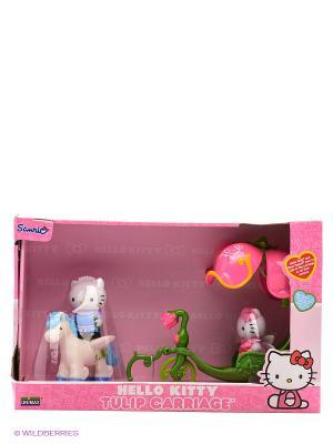 Набор Карета с лошадью Hello Kitty. Цвет: розовый, белый