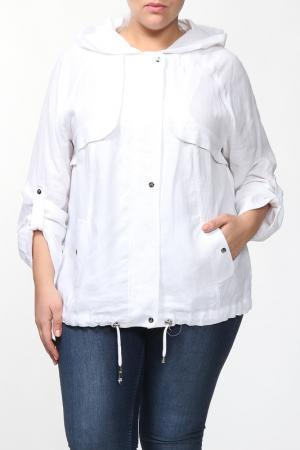 Куртка Зар-Стиль. Цвет: белый