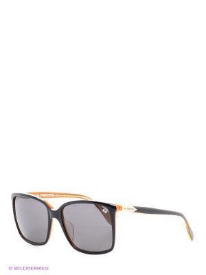 Солнцезащитные очки LM 536S 01 La Martina. Цвет: оранжевый, черный