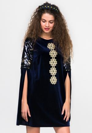 Платье HandyWear. Цвет: синий