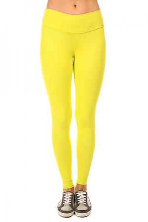 Леггинсы женские  New Zealand Legging Yellow CajuBrasil. Цвет: желтый