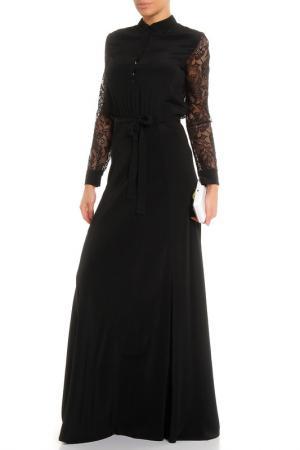 Платье вечернее Whos Who Who's. Цвет: черный