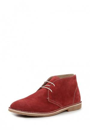 Ботинки GORM Ecco. Цвет: красный