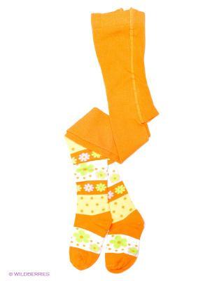 Колготки детские БРЕСТСКИЕ. Цвет: оранжевый, желтый