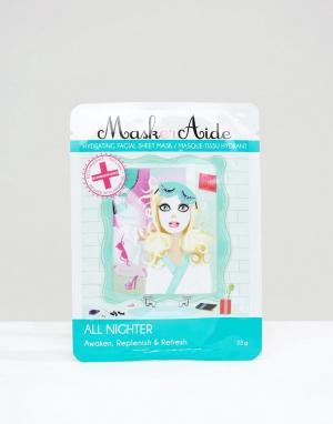 Beauty Extras Увлажняющая маска-салфетка Maskeraide All Nigher. Цвет: бесцветный
