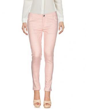Повседневные брюки CAFèNOIR. Цвет: пастельно-розовый